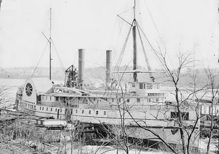 Steamer New York. Click here to go to web site
